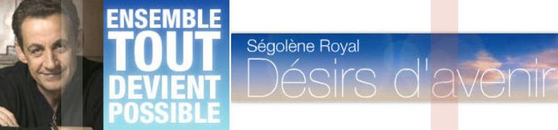Sarkozy vs royal la bataille des sites delphine jory for Delphine bataille